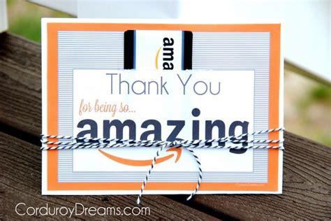 amazon gift card teacher gift printable thank you with amazon gift card free printable download