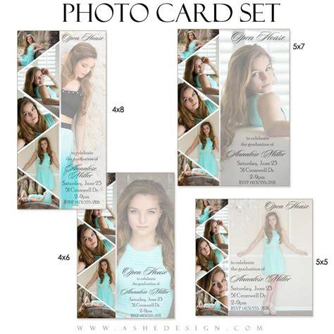 Graduation Card Template Photoshop by Pennant Photo Card Graduation Templates For