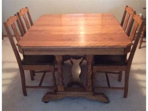 maple dining room set antique maple dining room set