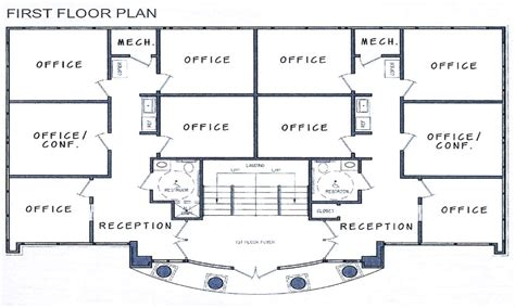 small commercial office building plans commercial office