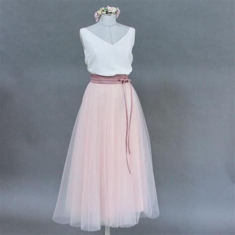 tuellrock rosa wadenlang   rosa kleid