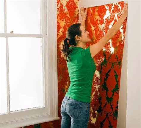 tappezzeria fai da te tappezzare le pareti bricoportale fai da te e bricolage
