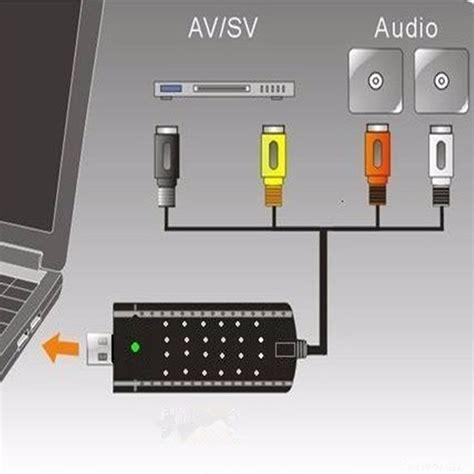 Usb Tv Tuner Card dc5v usb capture card tv tuner led vcr dvd audio
