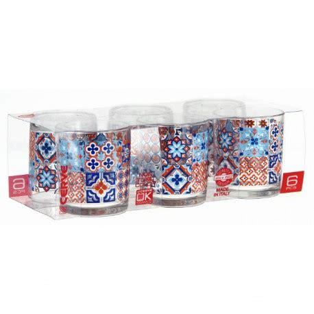 cerve bicchieri bicchieri acqua alicante in vetro cl 22 set 6