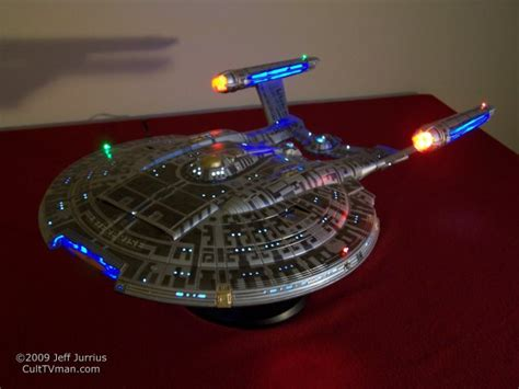 starship enterprise model with lights jeff jurrius nx 01 with lights culttvman s fantastic