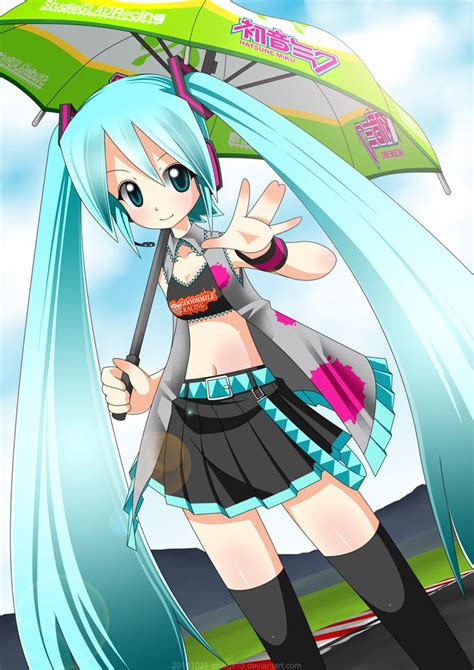 F Anime Racing race miku by qrullgx13 on deviantart