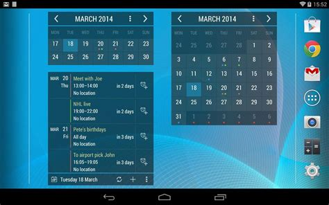 calendar widgets for android calendar android widget calendar template 2016