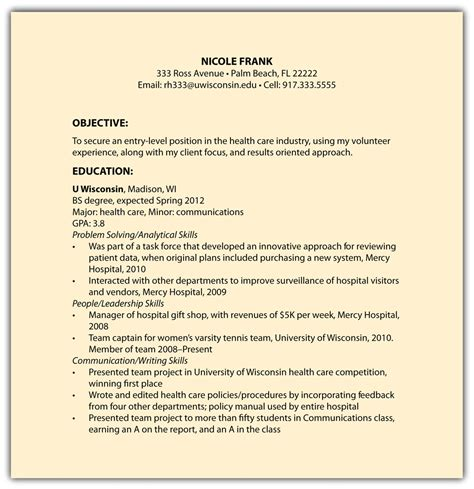 sample one page functional resume google search resumes