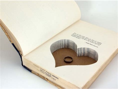 with this ring books wedding ring holders that are simply for your big