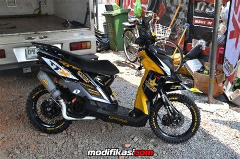 Modifikasi Vespa Adventure by Bengkel Modifikasi Motor Di Bandung