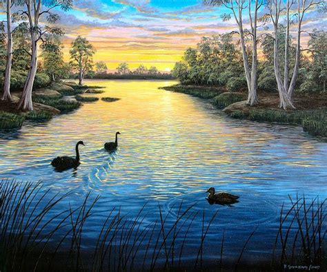 Landscape Pictures To Paint In Oils Australian Landscape Paintings Pictures Glenrowan