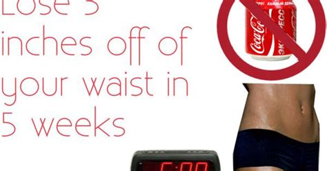 How To Shed Inches Your Waist by How To Lose 5 Inches Of Your Waist In 5 Weeks