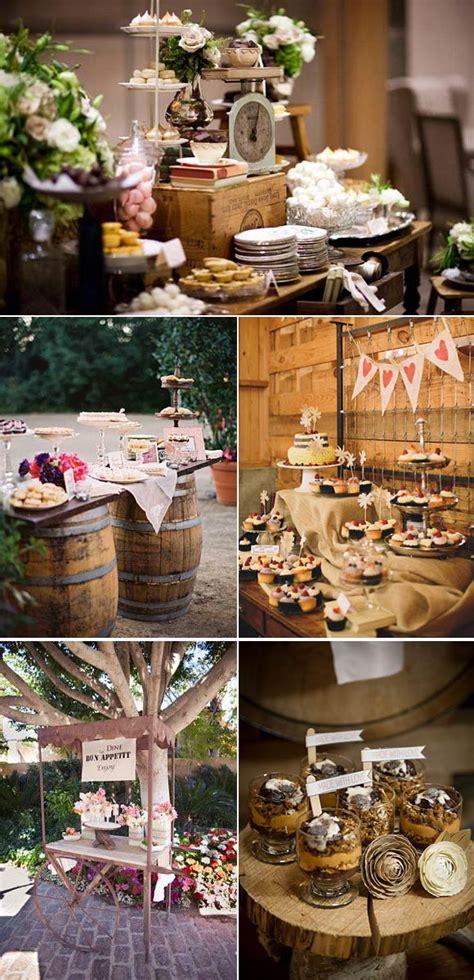mesas de dulces para bodas mesas de postres para bodas por estilos blog con ideas