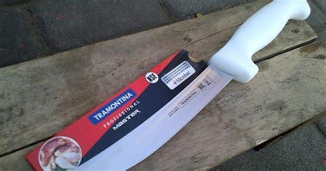 Kompor Portable Outdor boning knife pemisah daging dan tulang tramontina