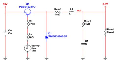 ideal diode model pspice ideal diode multisim 28 images 2sk4017 mosfet switching simulation using pspice doovi