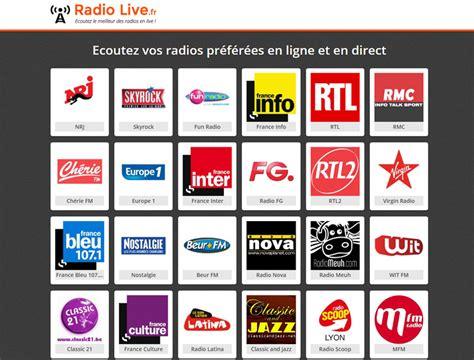 radio live ecouter la radio direct en ligne radio live