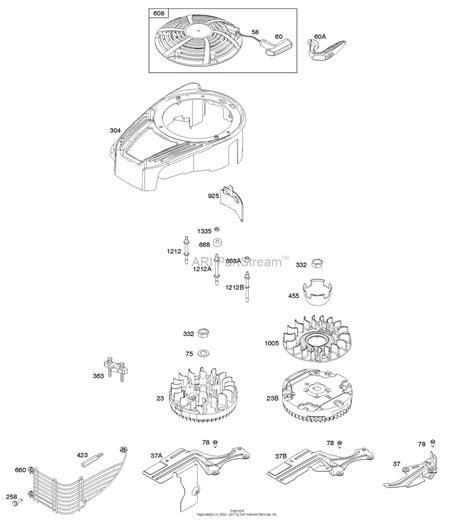 briggs and stratton 12 hp engine diagram briggs stratton carburetor diagram briggs and stratton