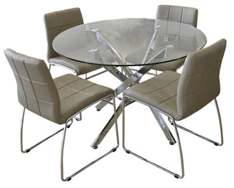 contemporary dinette sets glass kitchen tables dinettes