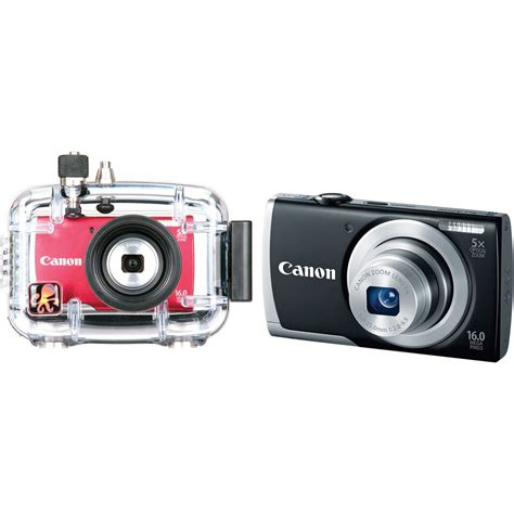 Waterproof Kamera Dslr Canon ikelite underwater housing with canon powershot a2500 digital