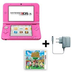 ds 3d console console 3ds xl animal crossing new leaf jeu 3ds achat