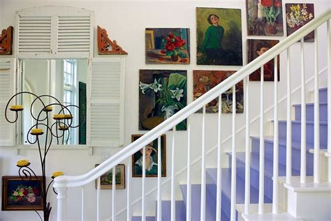 cottage style wall decor 11 fabulous staircases that exude shabby chic panache
