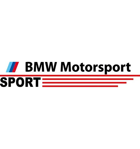Bmw Aufkleber Motorsport by Sticker Bmw Motorsport Exp 233 Di 233 S En Seulement 48h