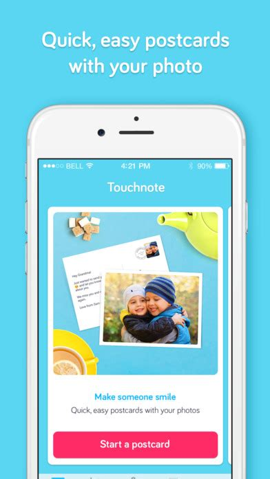 Best Gift Card App - touchnote the best postcards greeting cards app free download ver 7 20 0 for