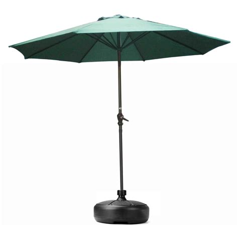 patio set umbrella ipree 38mm outdoor garden umbrella stand plastic