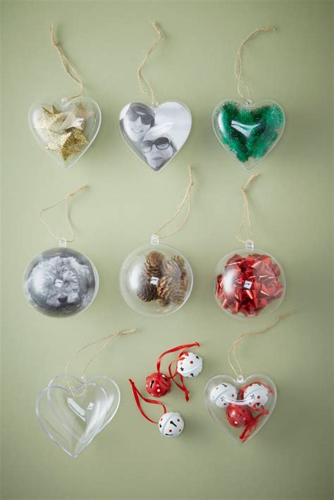 diy decorations using baubles how to use fillable baubles hobbycraft