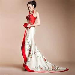 asian style wedding dresses modern qipao