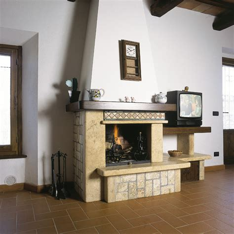 camino economico caminetto a parete voffca cania mobili classici