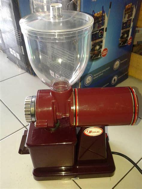 Mesin Giling Kopi Fomac mesin penggiling kopi mini tenaga listrik murah di jawa