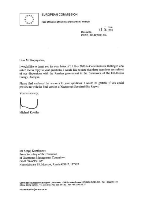 Request Letter With Attachment Contacts With Lobbying Firm Gplus Gazprom Kremlin Une