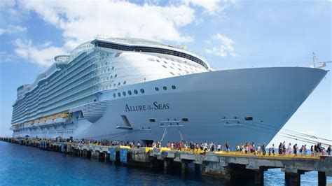 the world s largest cruise ship allure of the seas behind the scenes of the world s largest cruise ship