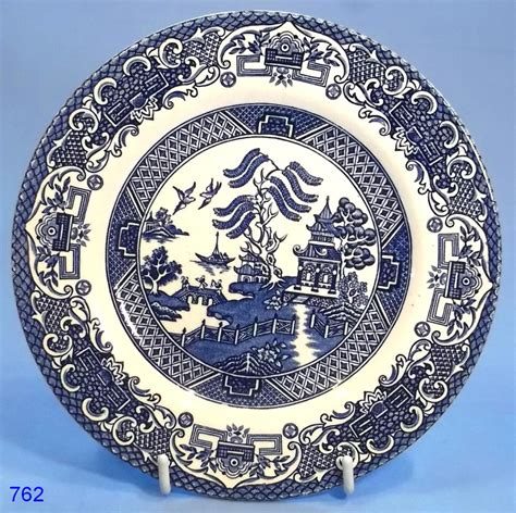 english willow pattern english ironstone willow pattern tea plate collectable china