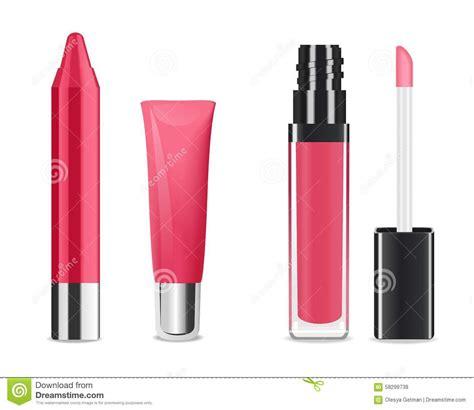 Lipgloss Brubah Pink Quern lip gloss vector stock vector image of health brush 58299738