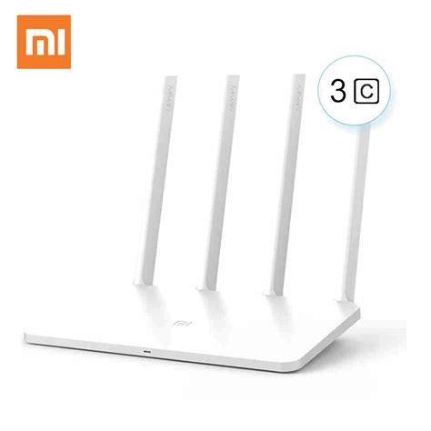New Xiaomi Wifi 3c Wireless Router 80211ac 300mbps With 4 Antennas aliexpress buy xiaomi mi wifi router 3c version wifi repeater 300mbps 2 4ghz