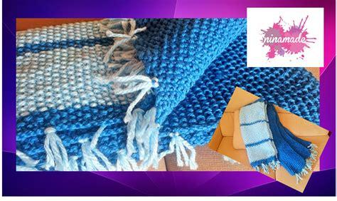 Comment Tricoter Un Plaid En by Diy Comment Tricoter Un Plaid En Point De Riz