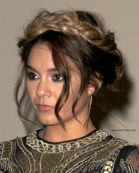 hudgens hair extensions hudgens braided hair extensions for an ombre