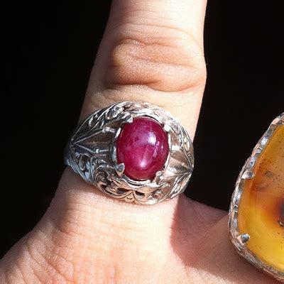 Cincin Batu Permata Ruby Zp 908 koleksi cincin menjual koleksi cincin dan batu