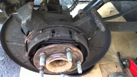 chrysler town and country brake problems 2002 chrysler town country rear disc brake rotor stuck