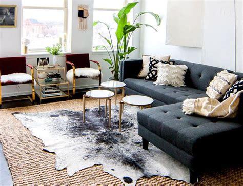 Cowhide Rug Living Room Ideas - how to overcome home d 233 cor phobias dekorhuys