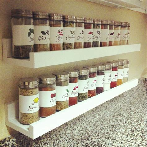 diy shelf spice rack diy spice rack recipris