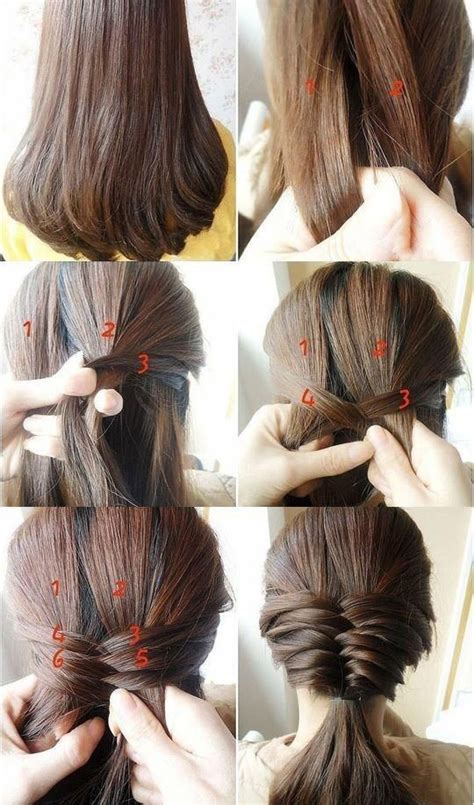 cute hairstyle steps step by step hairstyles for long hair long hairstyles