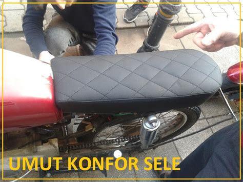 motosiklet koltuk doeseme    motor sele deri koltuk