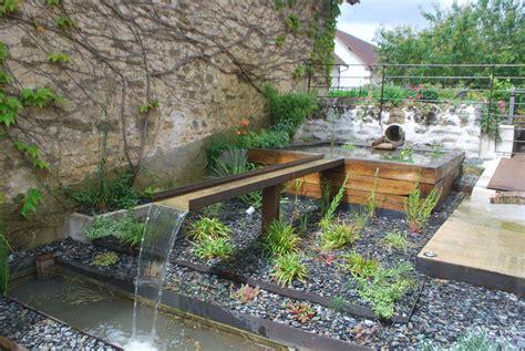 Les Bassins De Jardin by Eau Jardin Paysagiste 224 Pourrain Et Auxerre Cr 233 Ation De
