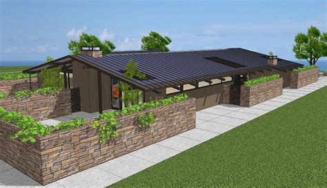 contemporary ranch house plans modern style house plan 3 beds 2 00 baths 2360 sq ft plan 544 3