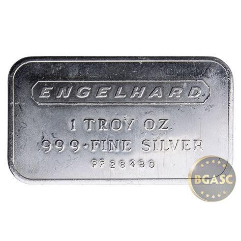 1 oz engelhard silver bar 999 buy 1 oz silver bar engelhard 999 bullion ingot