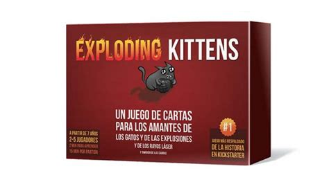 Asmodee Exploding Kittens by Exploding Kittens Llegan Los Gatitos Explosivos De La Mano De Asmodee