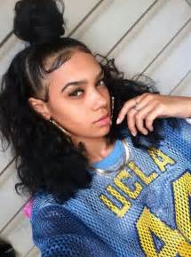hairstyles that are curly on the edges pin by love coca on mixed girls pinterest hair dos